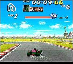 Pantallazo del juego online Street Racer (Snes)