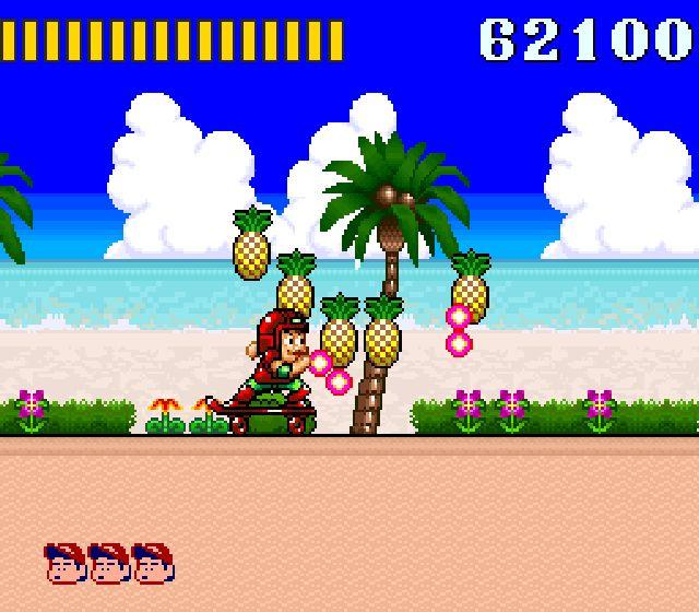 Pantallazo del juego online Super Adventure Island (Snes)