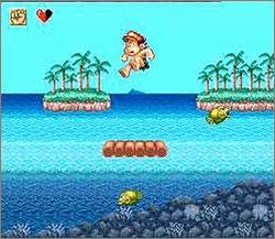Pantallazo del juego online Super Adventure Island II (Snes)