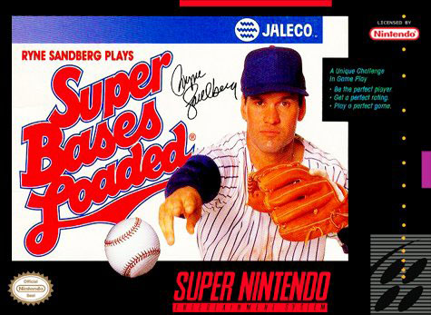 Carátula del juego Super Bases Loaded (Snes)