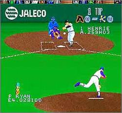 Pantallazo del juego online Super Bases Loaded (Snes)