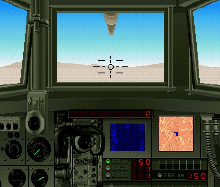 Pantallazo del juego online Super Battletank (Snes)
