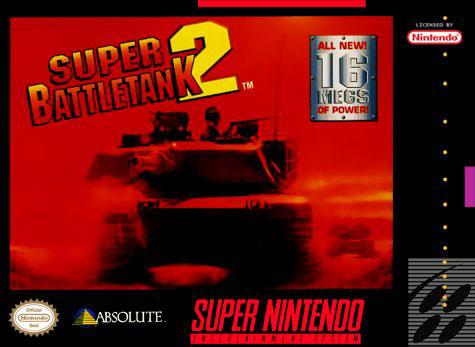 Carátula del juego Super Battletank 2 (Castellano) (snes)