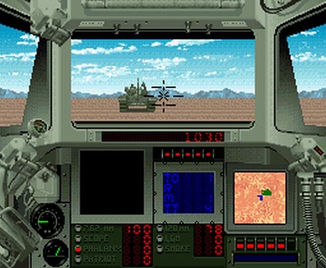Pantallazo del juego online Super Battletank 2 (Castellano) (snes)