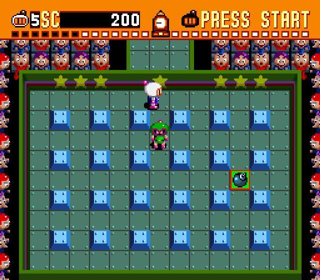 Imagen de la descarga de Super Bomberman