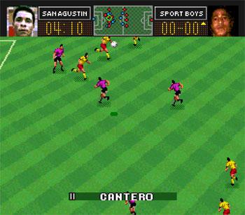 Pantallazo del juego online Super Descentralizado 1995 (Snes)