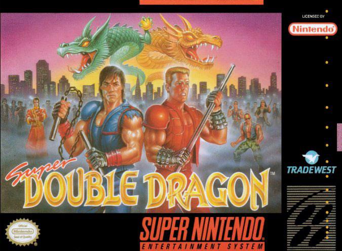 Portada de la descarga de Super Double Dragon