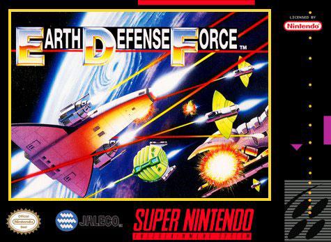 Carátula del juego Super Earth Defense Force (Snes)
