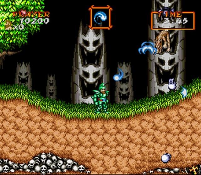Pantallazo del juego online Super Ghouls 'N Ghosts (Snes)