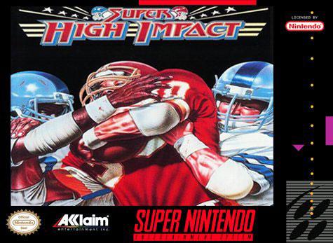 Carátula del juego Super High Impact (Snes)