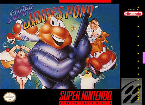 Carátula del juego Super James Pond (Snes)