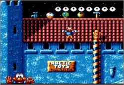 Pantallazo del juego online Super James Pond (Snes)
