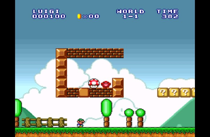 Pantallazo del juego online Super Mario all Stars (Snes)