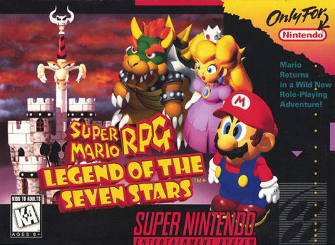 Carátula del juego Super Mario RPG - Legend of the Seven Stars (Snes)