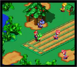Pantallazo del juego online Super Mario RPG - Legend of the Seven Stars (Snes)