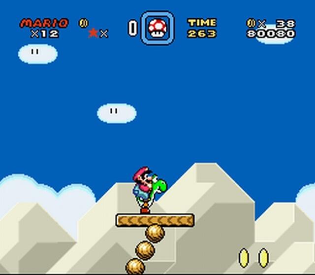 Pantallazo del juego online Super Mario World (Snes)
