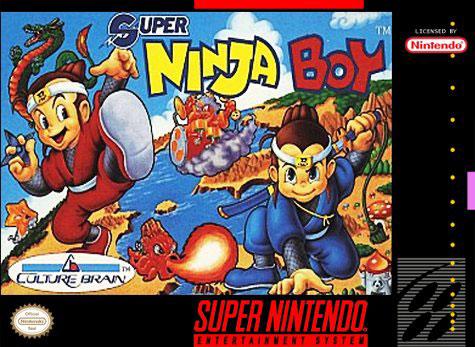 Carátula del juego Super Ninja Boy (Snes)
