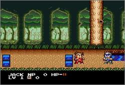 Pantallazo del juego online Super Ninja Boy (Snes)