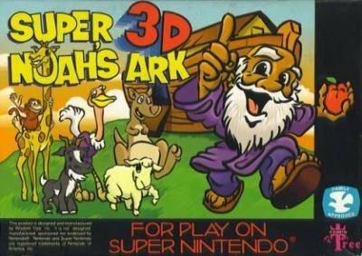 Carátula del juego Super Noah's Ark 3D (Snes)