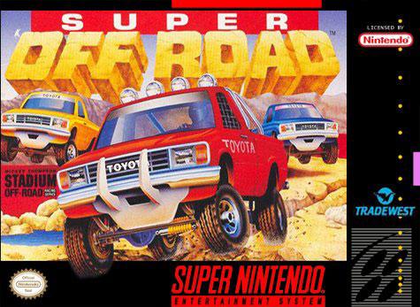 Carátula del juego Super Off Road (Snes)