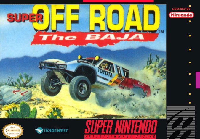 Portada de la descarga de Super Off-Road: The Baja