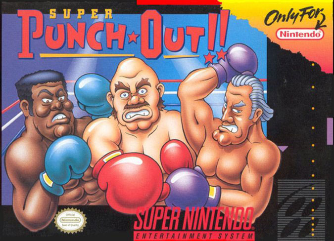 Carátula del juego Super Punch Out (Snes)