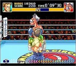 Pantallazo del juego online Super Punch Out (Snes)