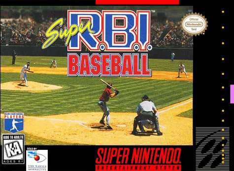 Portada de la descarga de Super RBI Baseball