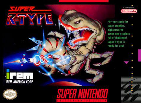 Carátula del juego Super R-Type (Snes)