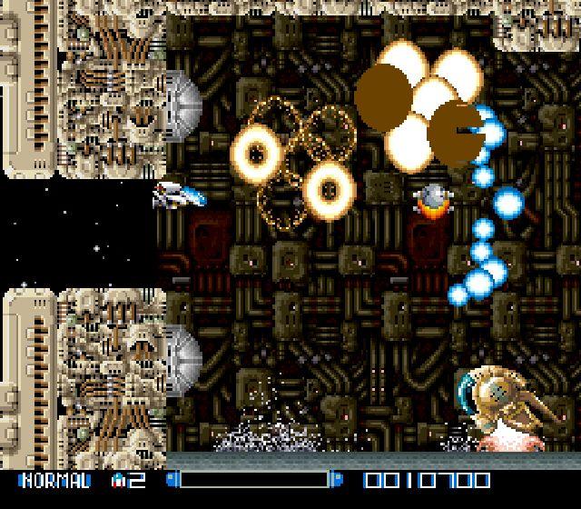 Pantallazo del juego online Super R-Type (Snes)