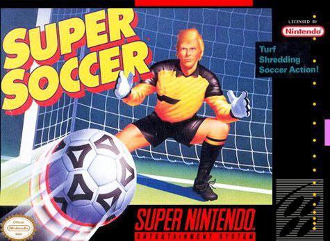 Carátula del juego Super Soccer (Snes)