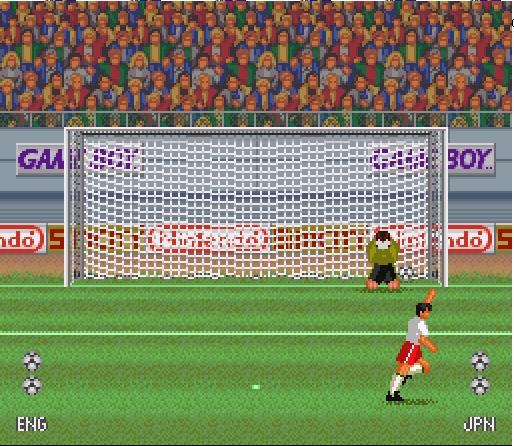 Pantallazo del juego online Super Soccer (Snes)