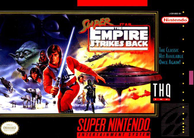 Portada de la descarga de Super Star Wars: The Empire Strikes Back