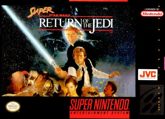 Carátula del juego Super Star Wars Return of the Jedi (Snes)