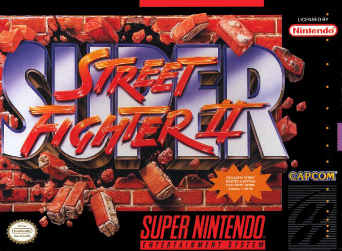 Carátula del juego Super Street Fighter II The New Challengers (Snes)