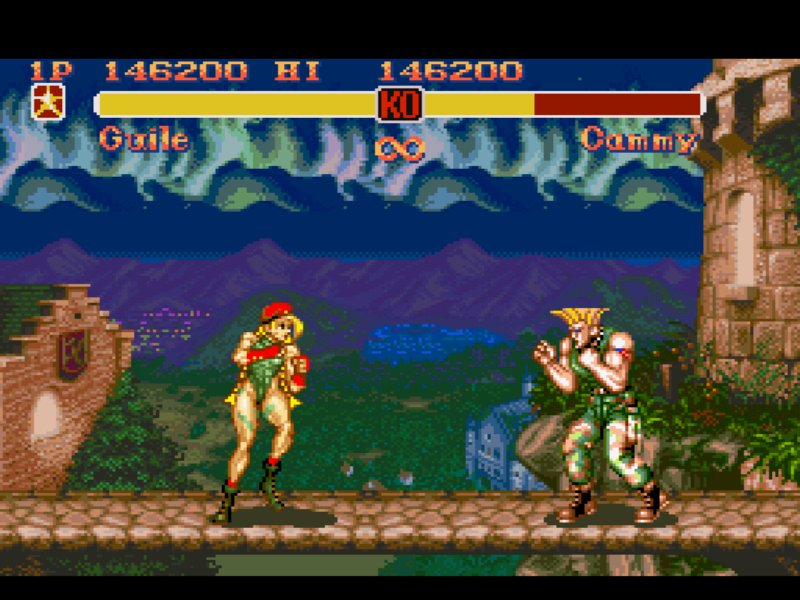 Pantallazo del juego online Super Street Fighter II The New Challengers (Snes)