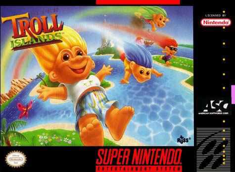 Carátula del juego Super Troll Islands (Snes)
