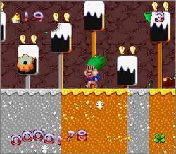 Pantallazo del juego online Super Troll Islands (Snes)