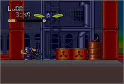 Pantallazo del juego online SWAT Kats (Snes)