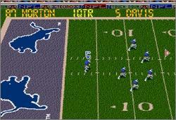Pantallazo del juego online Tecmo Super Bowl III Final Edition (Snes)