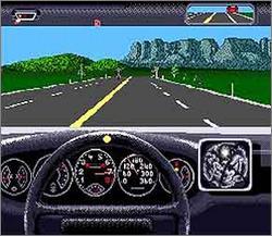 Pantallazo del juego online The Duel - Test Drive II (Snes)