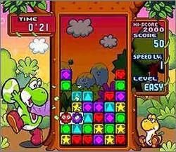 Pantallazo del juego online Tetris Attack (Snes)