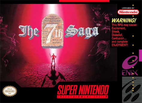 Carátula del juego The 7th Saga (Snes)