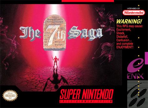 Portada de la descarga de The 7th Saga