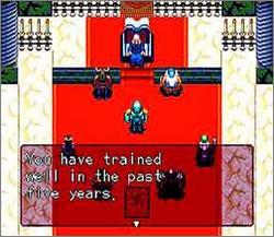 Pantallazo del juego online The 7th Saga (Snes)