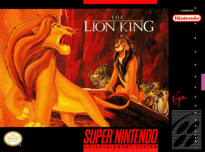 Carátula del juego The Lion King (Snes)
