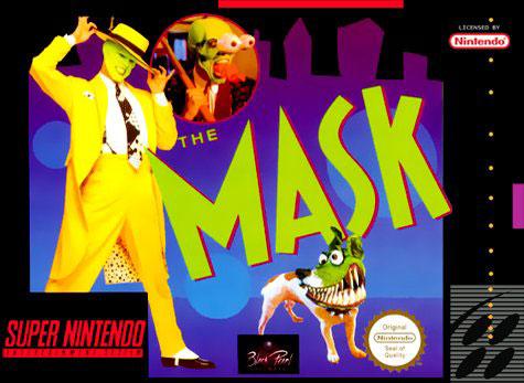 Carátula del juego The Mask (Snes)