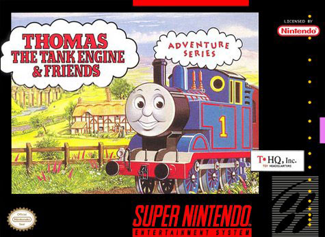Carátula del juego Thomas the Tank Engine & Friends (Snes)