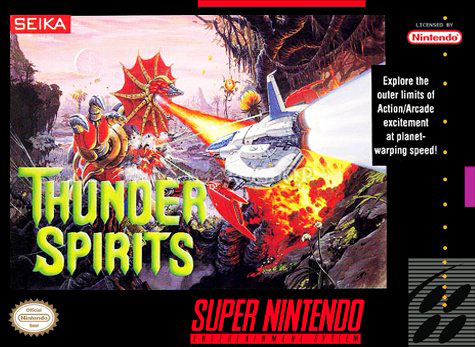 Carátula del juego Thunder Spirits (Snes)