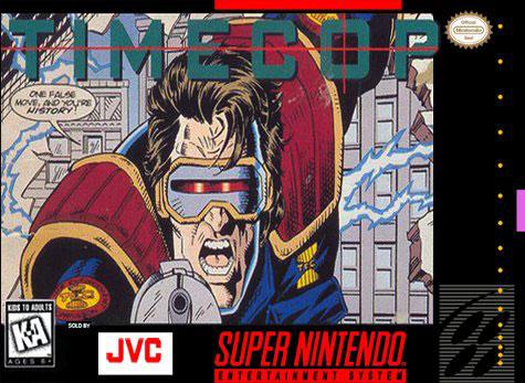 Carátula del juego Timecop (Snes)